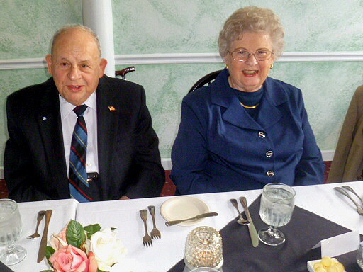 Mrs. and Mr. Vitale, former aide to Secretary of Defense George Marshall.