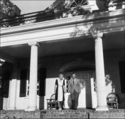 The Marshalls at Dodona Manor (Photo: George C. Marshall Foundation)