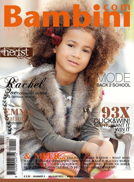 Fashionstylist kids cover Bambini Magazine