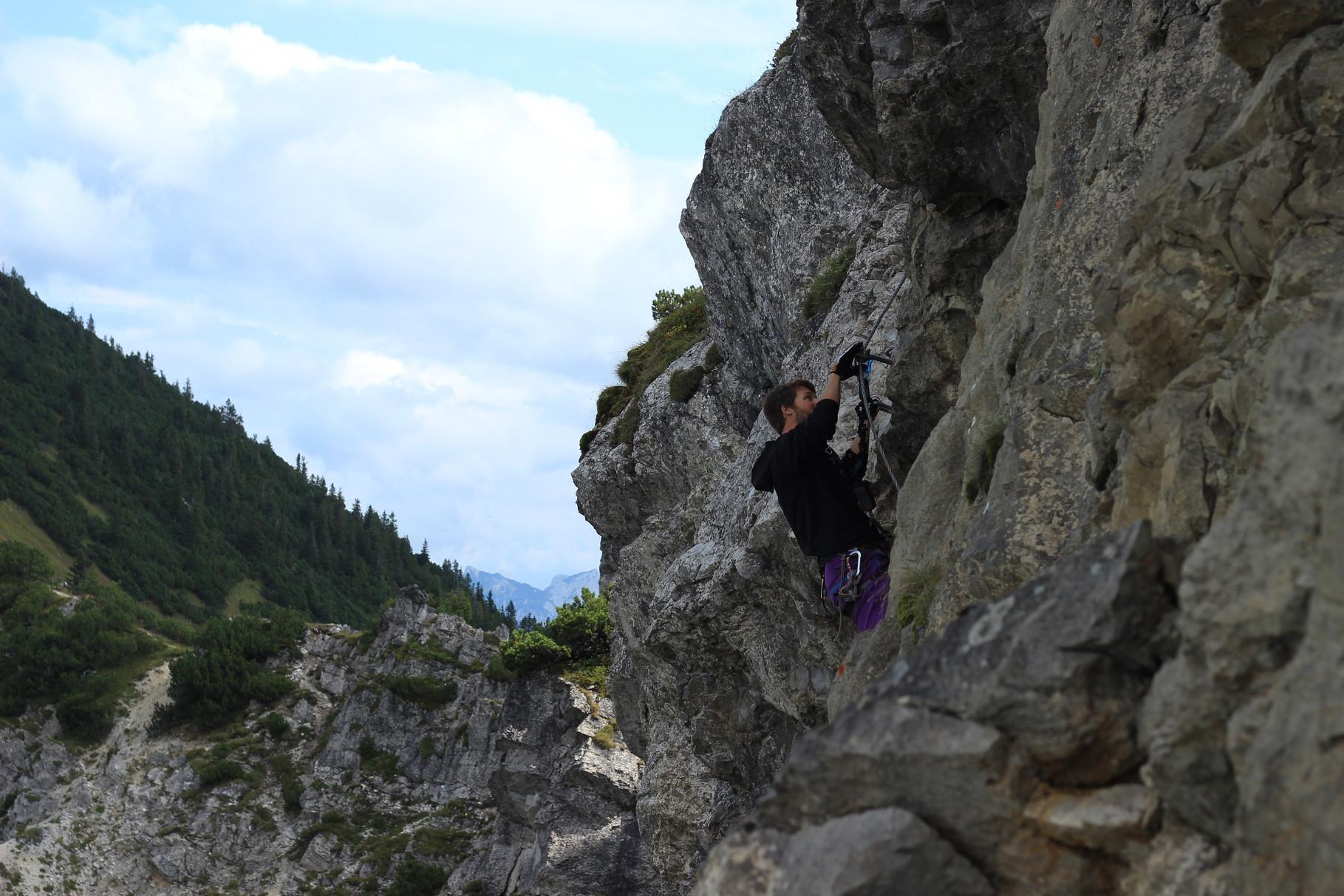 Salewa Klettersteig Iseler