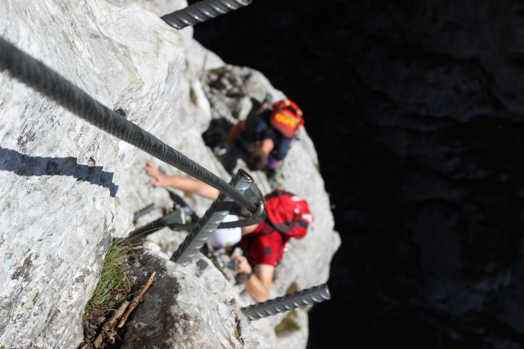 Hernlersteig + Klettersteig auf den Traunstein