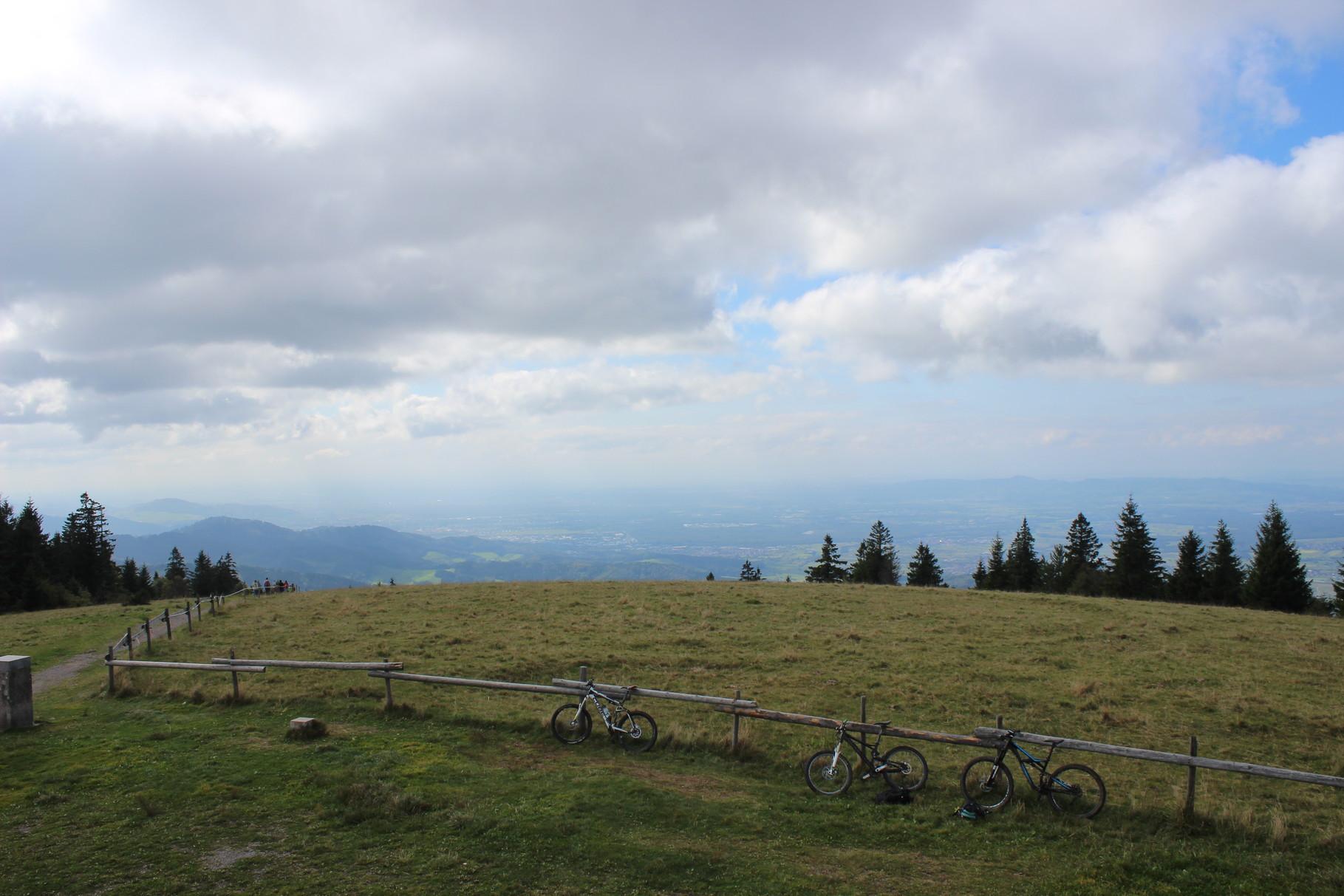 Kandl Höhenweg, stolze 50 km und 1500 hm