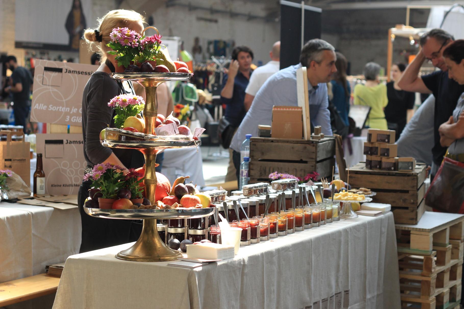 Edelstoff Markt in Wien