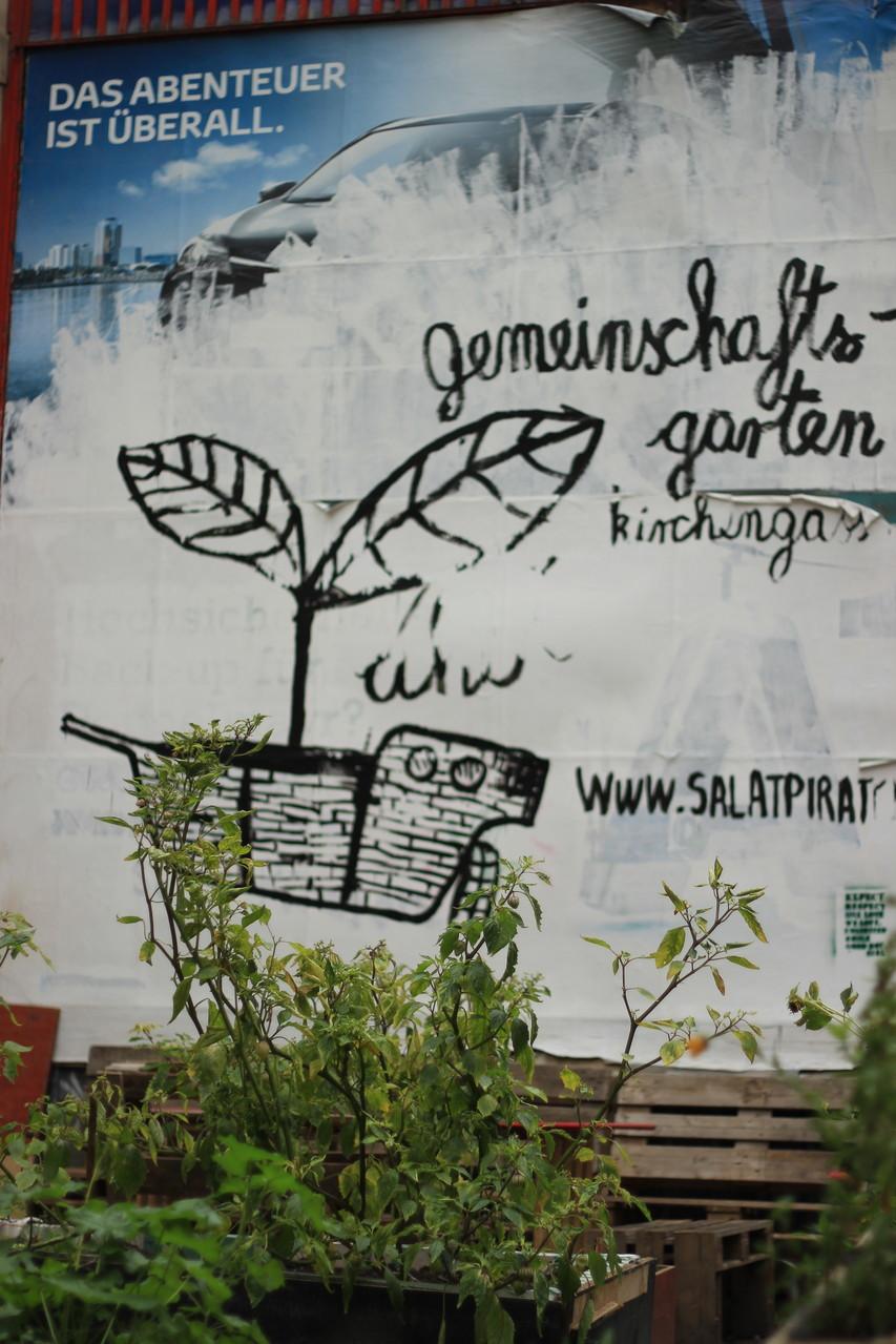 das gibts auch nur in der Großstadt: Gemeinschaftsgärten