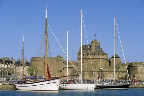 Saint-Malo, le port