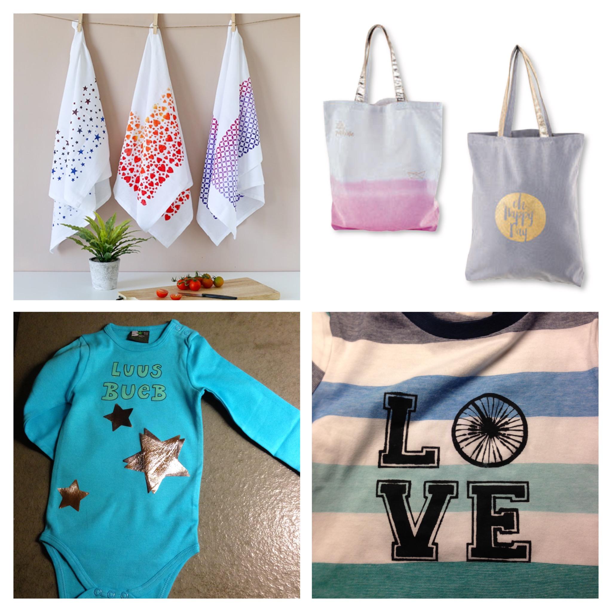 Beispiele Textil-Bedrucken