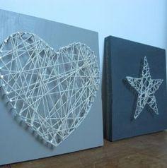 Fadenbild Stern/Herz Beispiel aus Internet