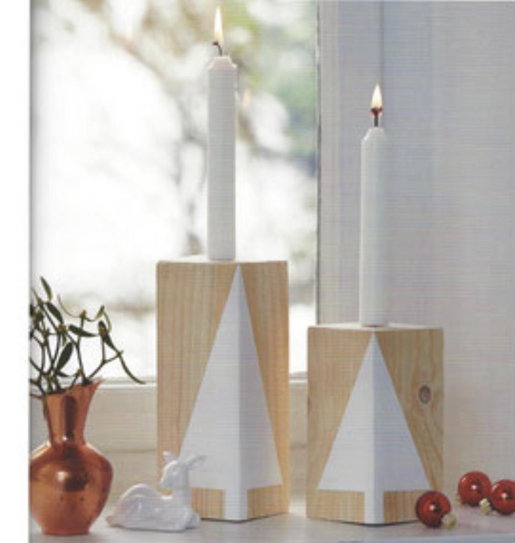 Klotz-Kerze Tanne Beispiel von Topp-Buch-Verlag