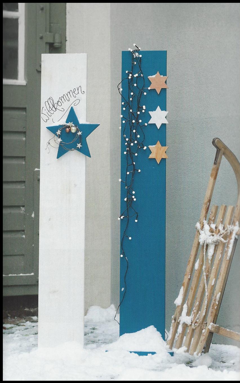 Eingangs-Steele aus Holz Beispiels-Bild aus Buch vom Topp-Verlag