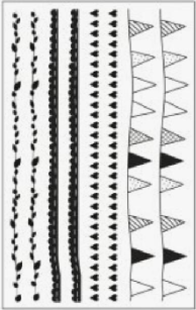 Abziehbilder für Bambus