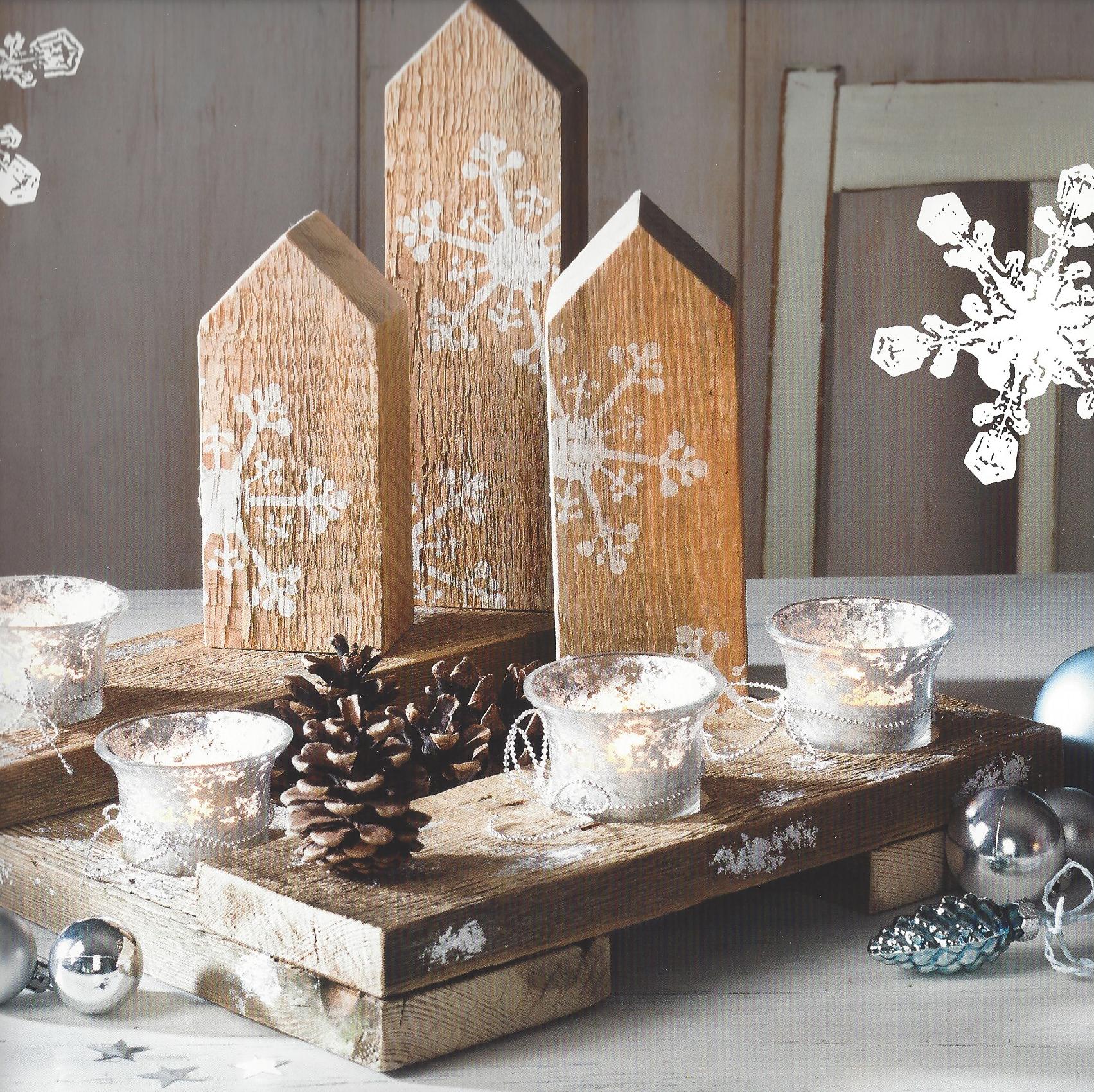 Holz Stadt Beispiels-Bild aus Buch vom Topp-Verlag