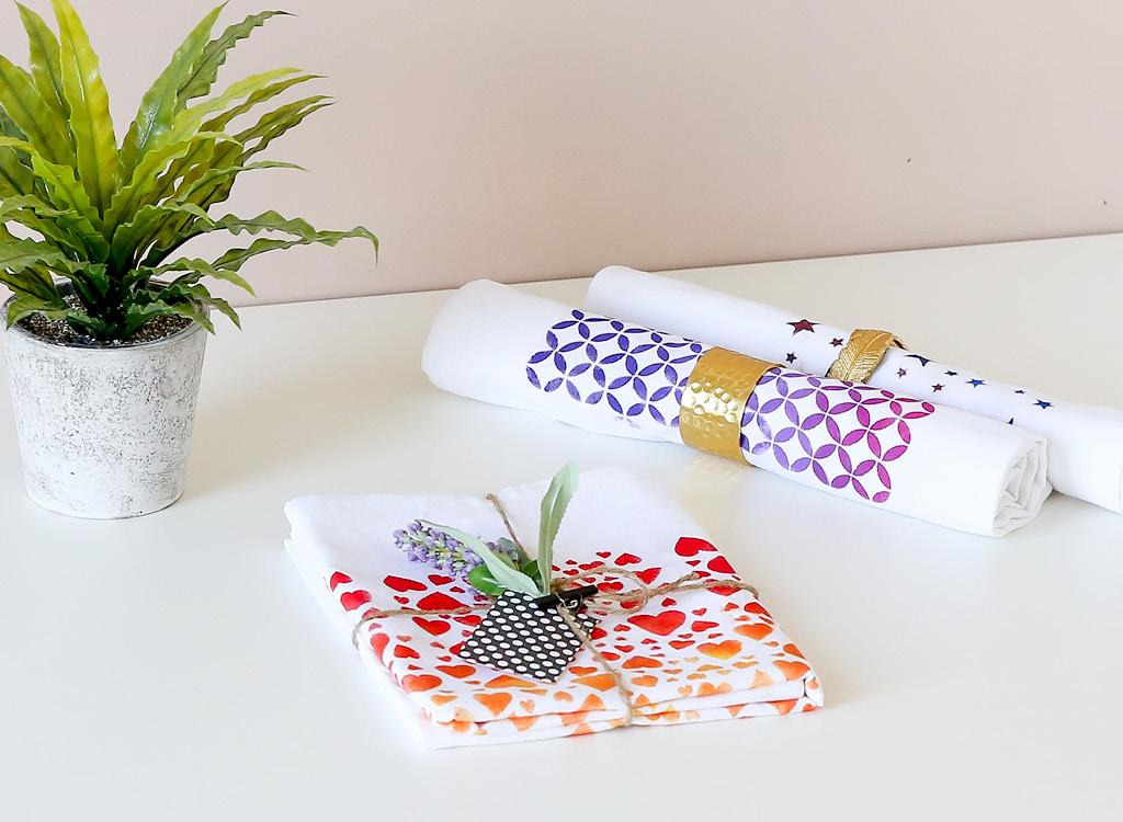 Handtücher bedruckt Beispiel Marein