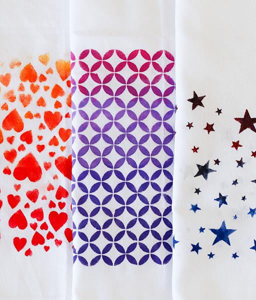 Handtücher bedruck Beispiel Marein