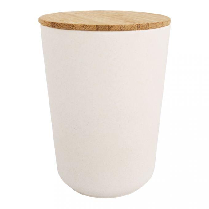*Neu* Bambus Vorratsdose Rund, Designbeispiel Rayher