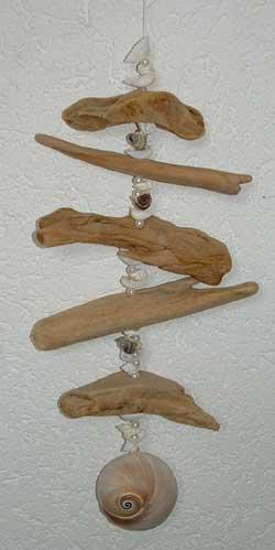 Schwemmholz-Girlande Beispiels-Bild Quelle Internet