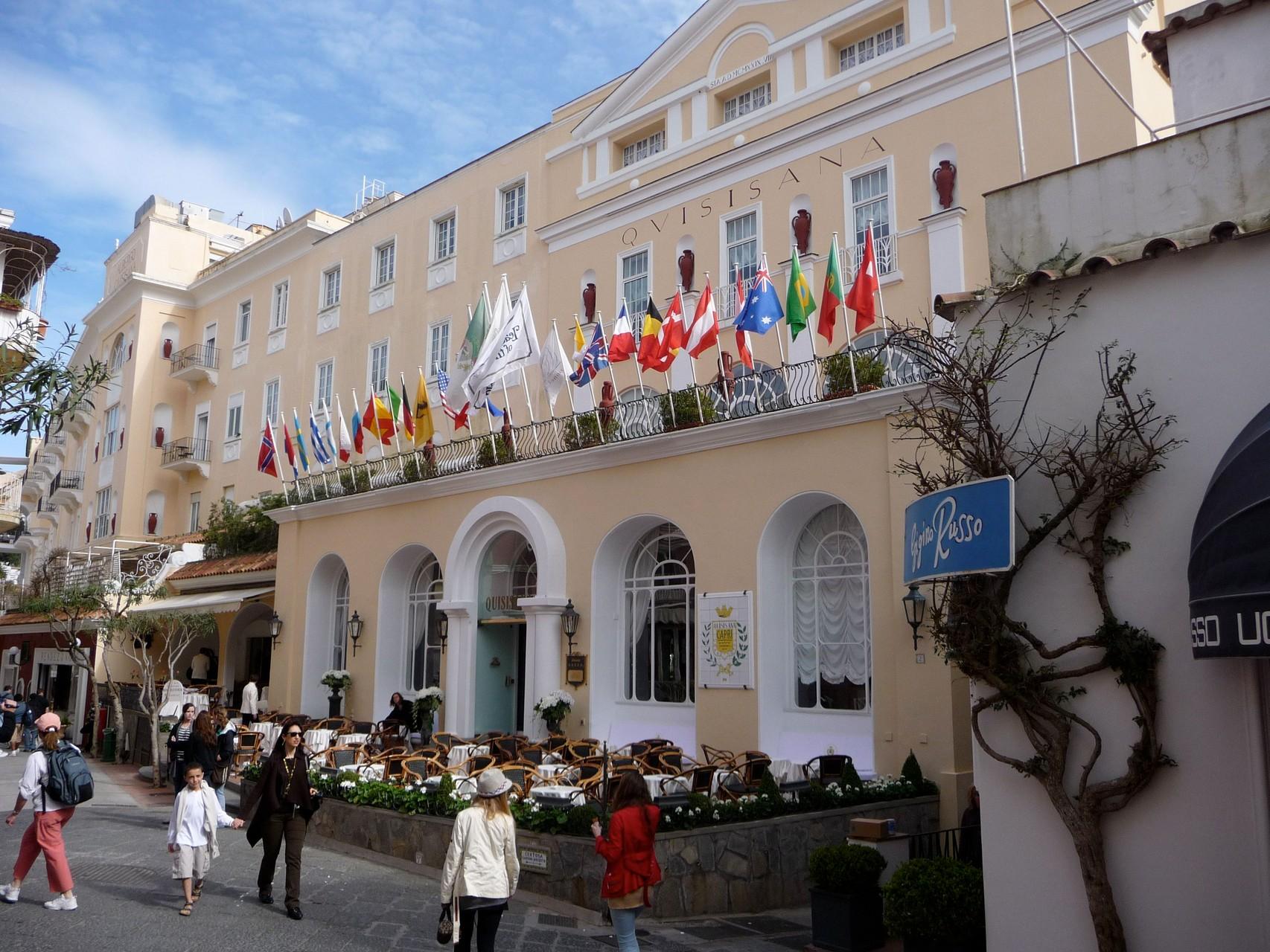Luxus-Hotel in Capristadt