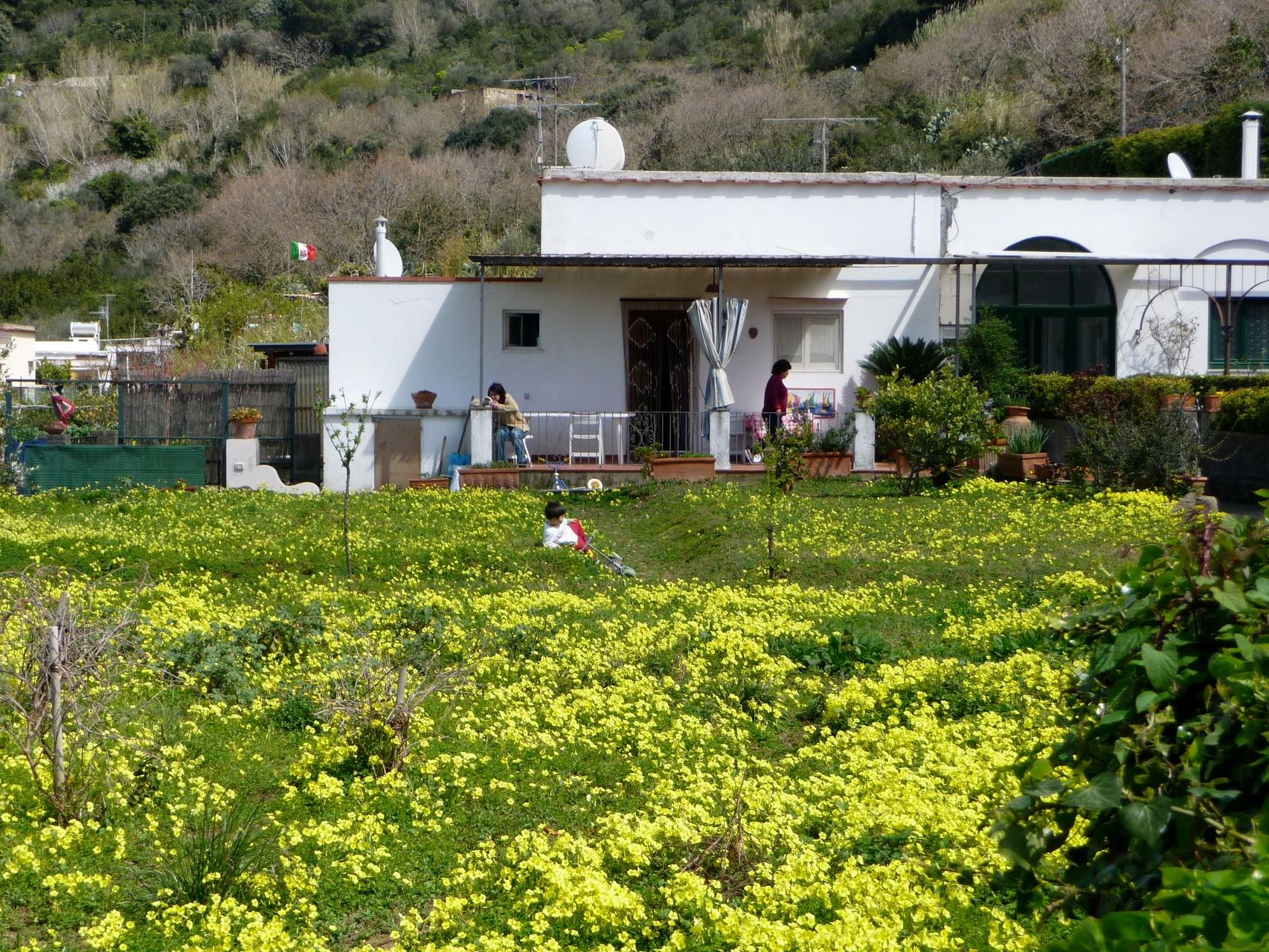 Normales Wohnhaus auf Capri