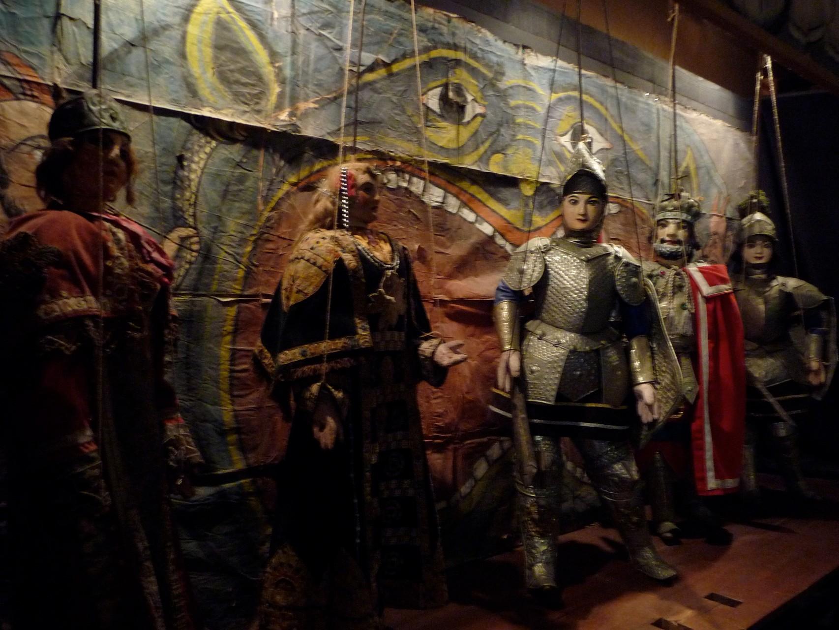 Im Marionetten-Museum in Palermo