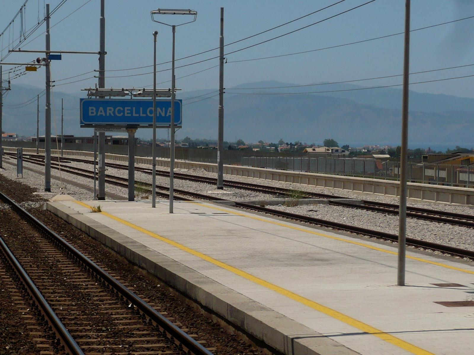 Barcellona ist ähnlich groß (ca. 40 000 Einwohner)