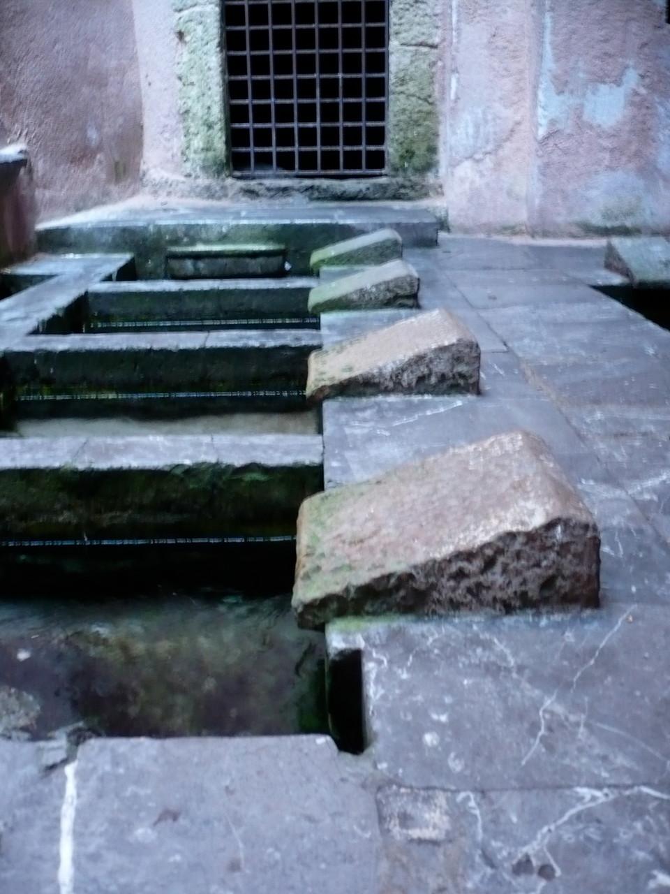 Das  arabische Waschhaus aus dem Mittelalter...