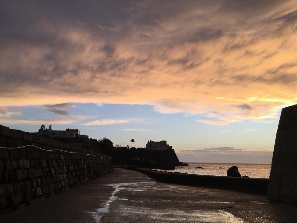 Ischia am Abend nach dem Regen