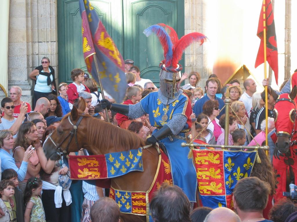 Les Médiévales à Moncontour- tous les 2 ans années impaires