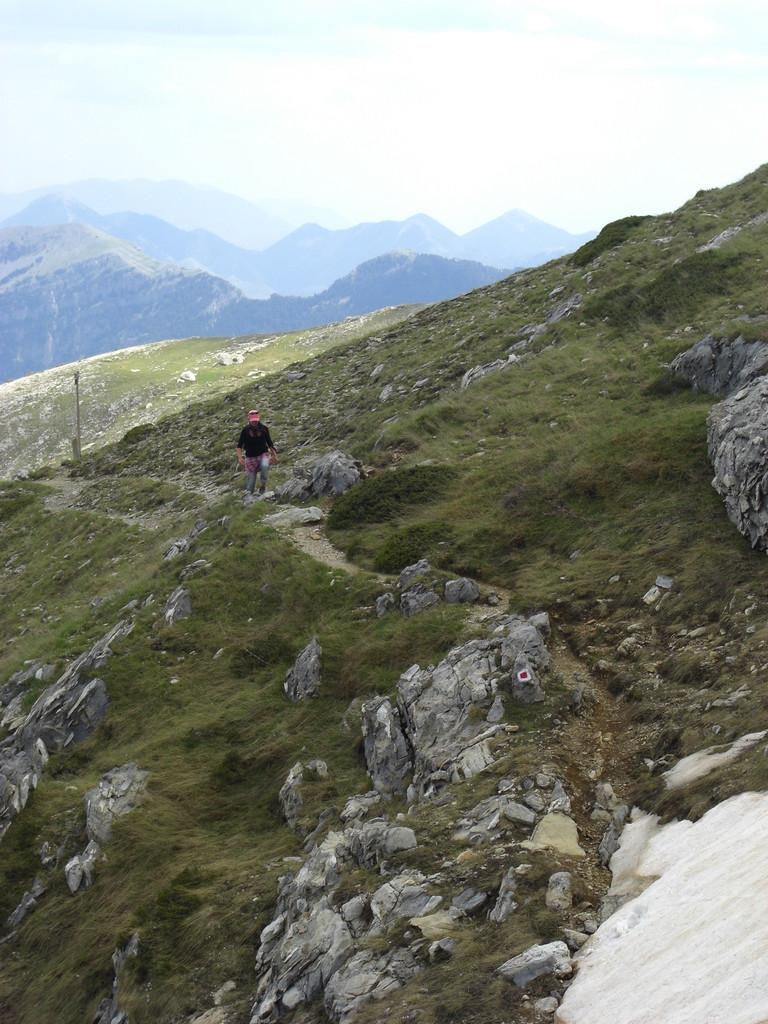 Wanderung zum Gipfel Profitis Ilias