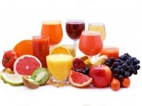 Getränk mit Früchten