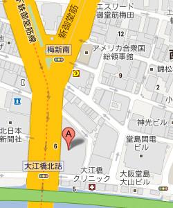 大阪支店マップ
