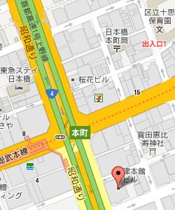 東京本社マップ