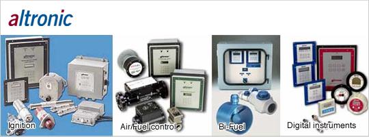 ガスエンジン点火システムと付属品・計器と制御装置製品