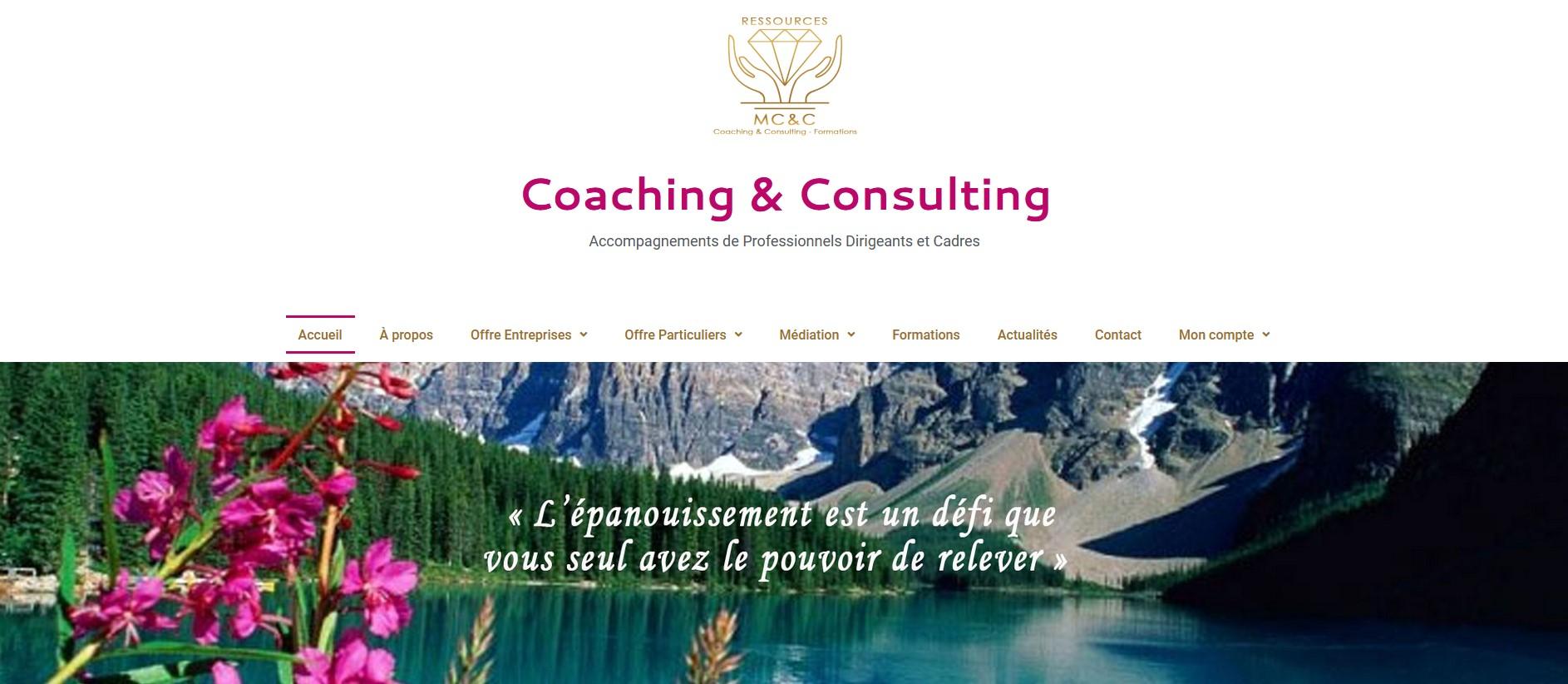 """Site web """"MCC-Ressources"""""""
