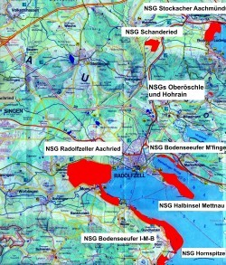 Übersicht unsere Schutzgebiete