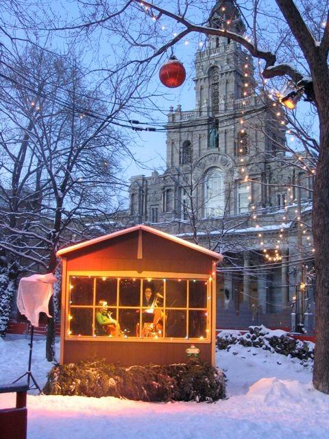 Noël dans le parc, parc Lahaie, décembre 2005