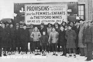 Alliés de la grève, 1949