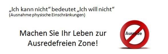 ausredefreie Zone