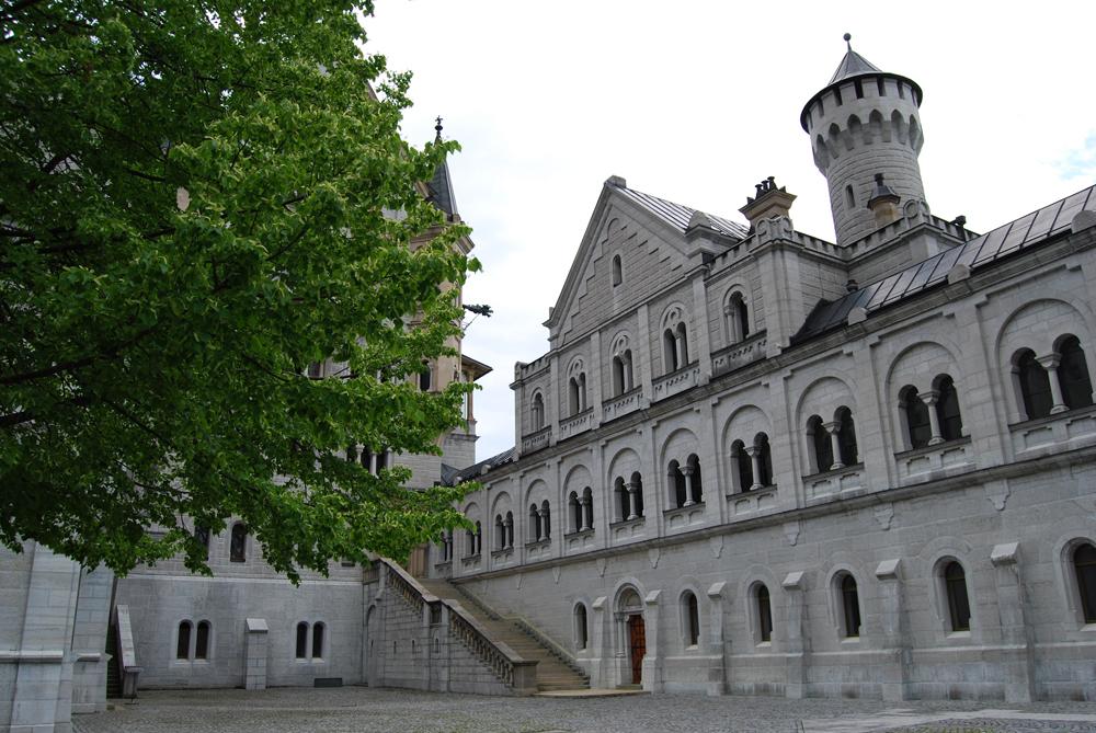 Neuschwanstein - Innenhof