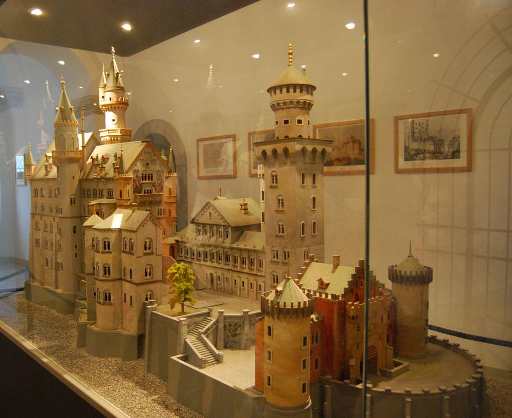 Modell Schloss Neuschwanstein