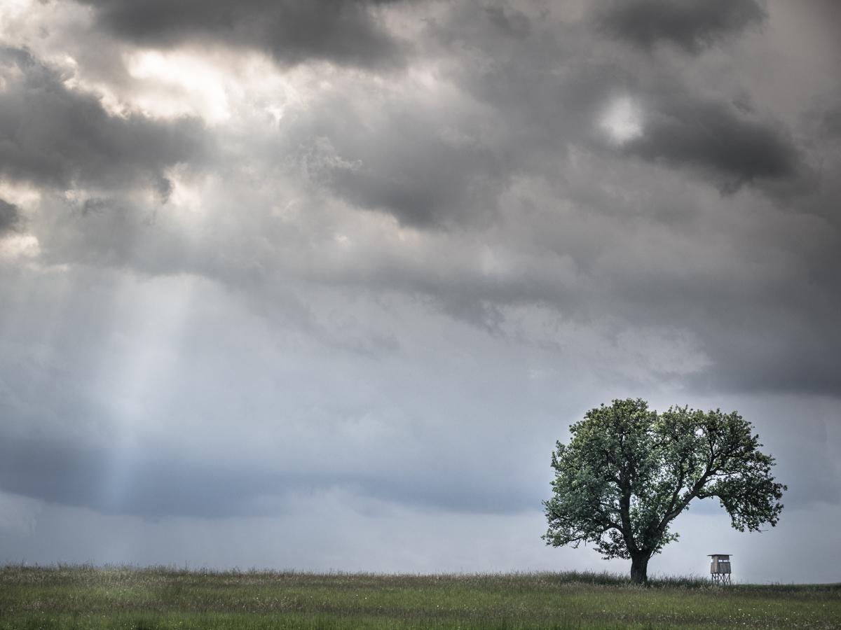 Gewitterstimmung im Frühjahr