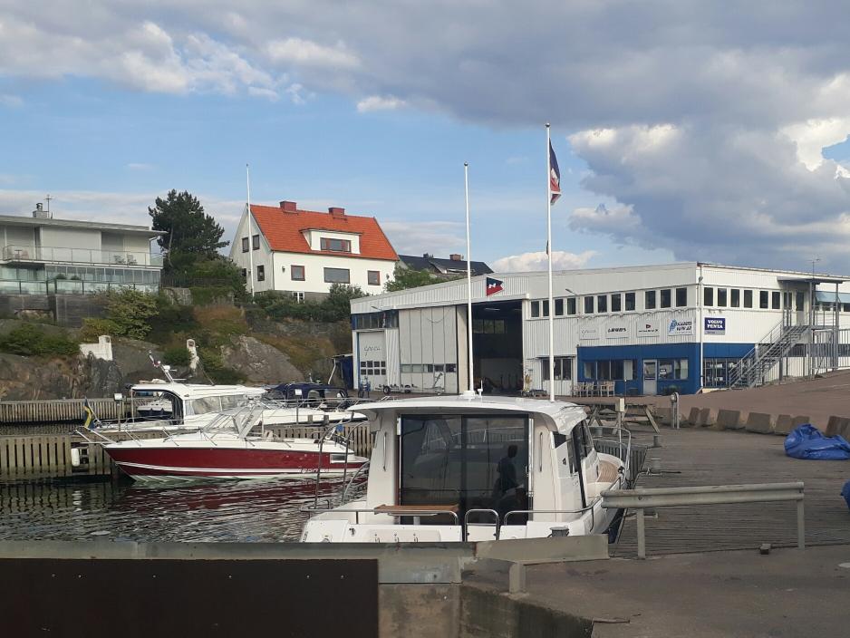 Sjöstadens varv in Långedrag