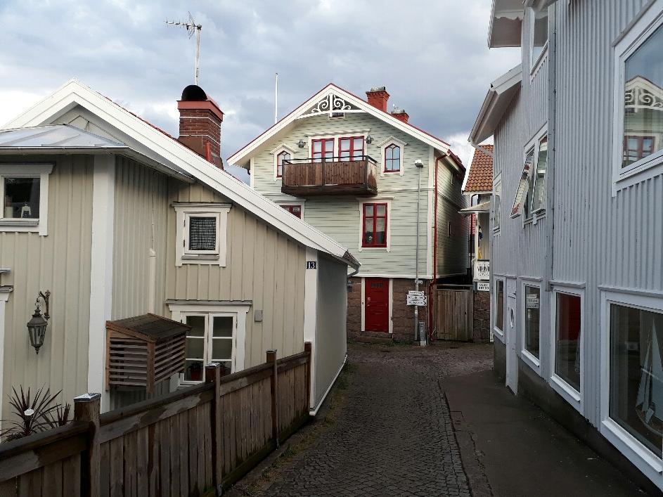 Smögen houses