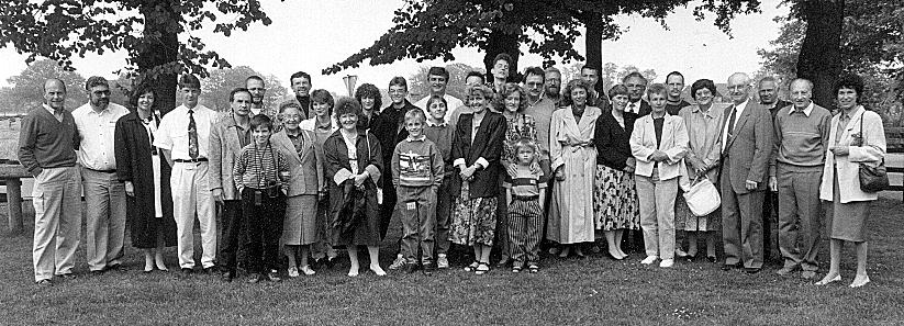 Am  3. Juni 1990 trafen sich 34 Hurrelleute im Gasthof Mehrings in Hurrel zum ersten Mal.
