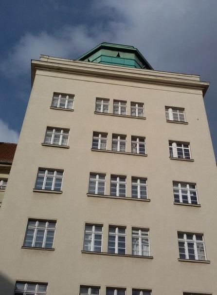 Atelierturm (Eingang Ceciliengärten)