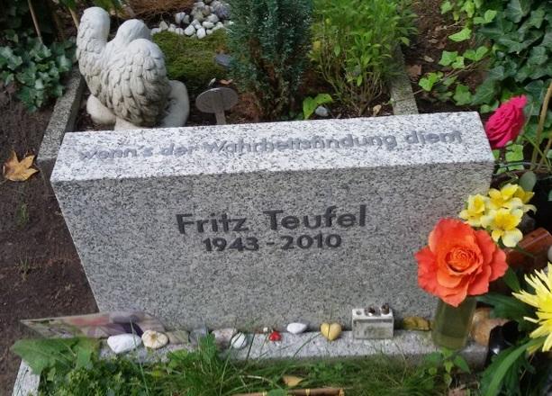 Fritz Teufel Grabstätte