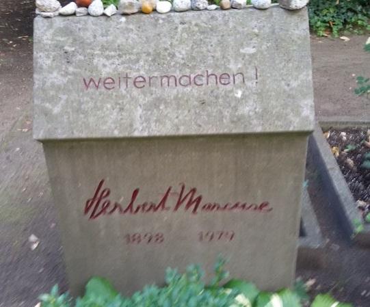 Herbert Marcuse Grabstätte