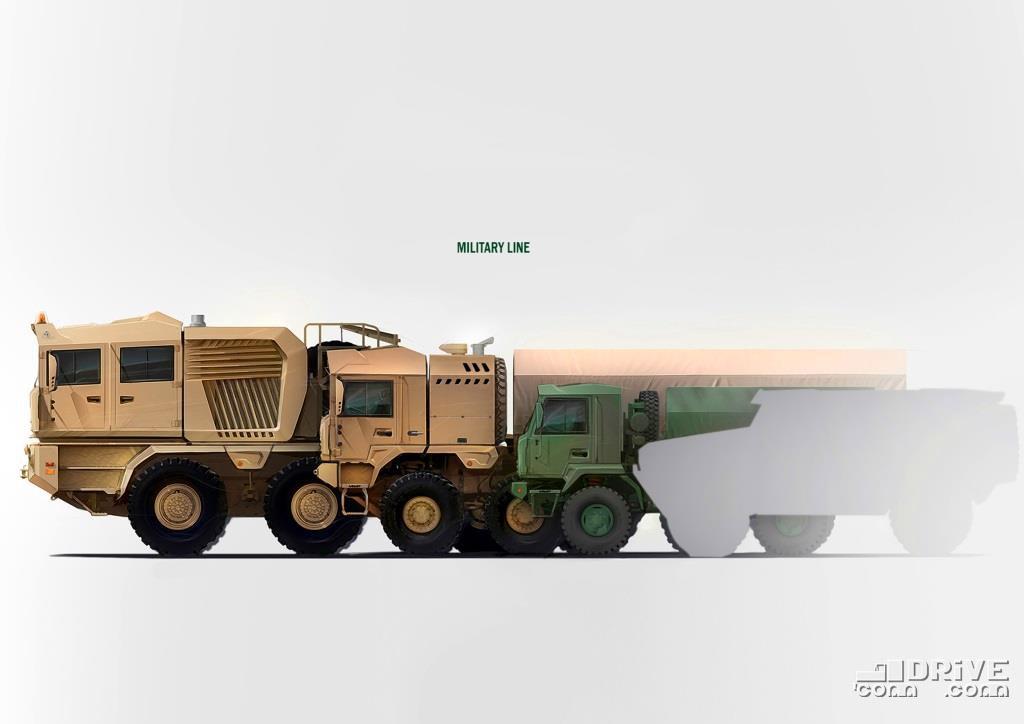 Военная линейка: МЗКТ-741351, МЗКТ- 600203, МЗКТ-5002 и контур МЗКТ-490100