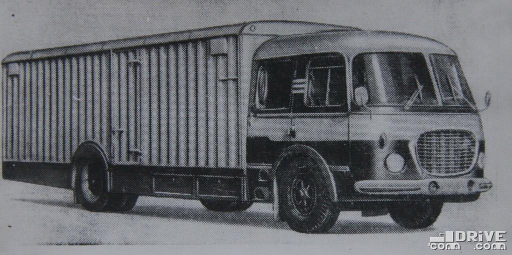"Рисунок 28. Автомобиль-фургон ""Шкода 706-РТО-С"""