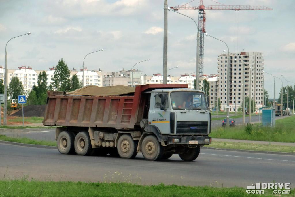 """""""Высокий"""" кузов вместимостью 16,5-кубов. Минск. 09/06/2010"""