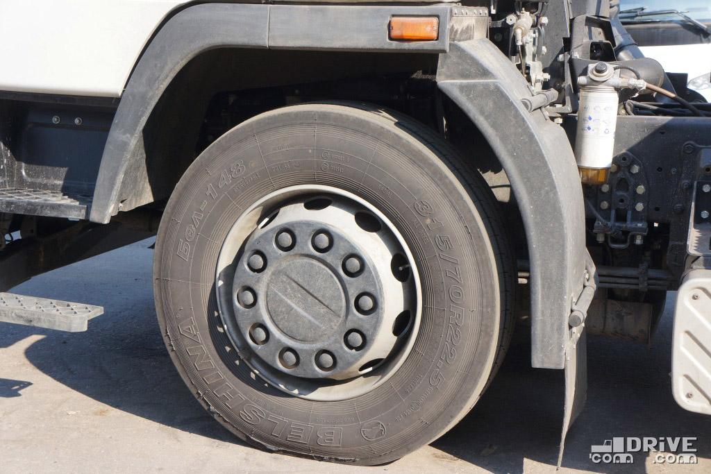 Установлены шины Бел-148, 315/70R22,5