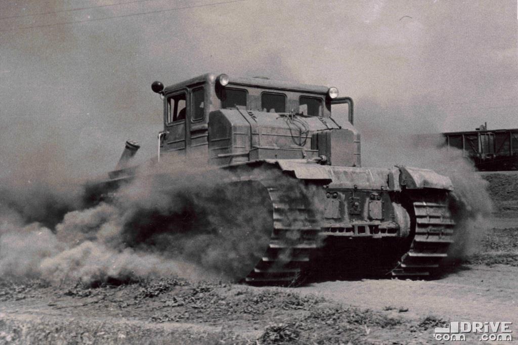 ДЭТ-250 во время испытаний